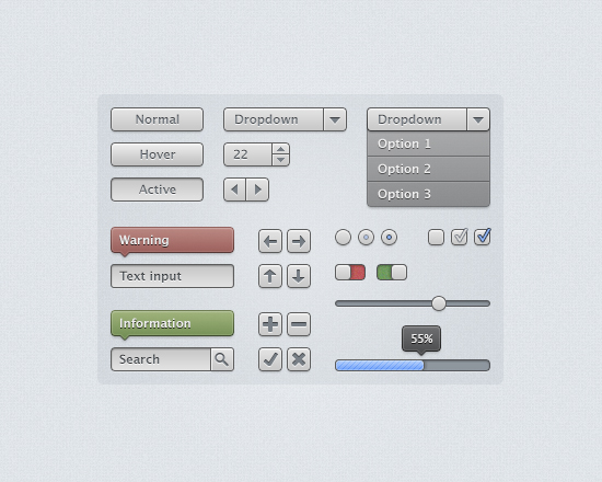 Light Gray Interface Kit