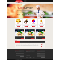 Restaurant Layout Template
