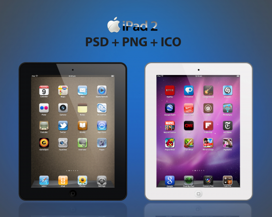 IPad 2 PSD File