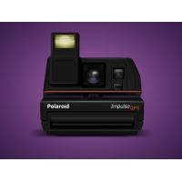 Polaroid Camera PSD File