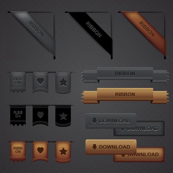 Web Ribbons Pack