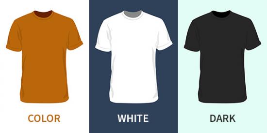 Blank T-Shirt Mockup Template PSD