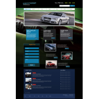 Car Company Layout Template