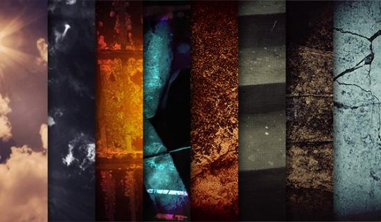 8 Thriller Dramatic Background Textures