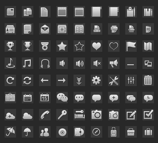 Glymph Icons