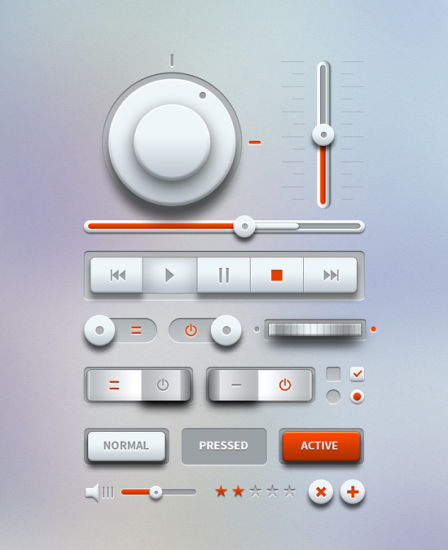 Music User Interface - Light
