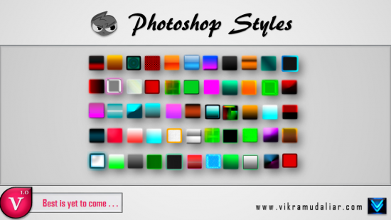 Photoshop Styles - Asl File