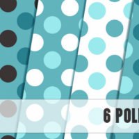 6 Polka Patterns By Maja