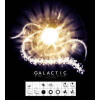 Galactic Brushes By Kabocha