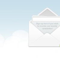 Signup Envelope
