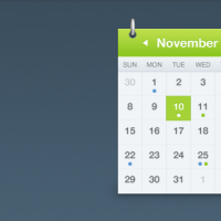 Calendar Interface By Jonno Riekwel