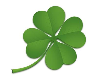 Four Leaf Clover PSD File