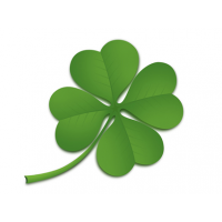 Four Leaf Clover PSD File