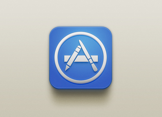 App Store Icon By Christophe Tauziet