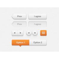 Ava White User Interface Kit