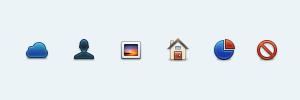Vibrancy PSD Icons