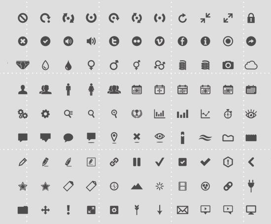 126 Icon Set By Eric Benjamin