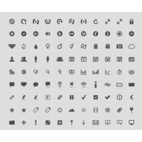 126 Icon Set By Eric Benjamin
