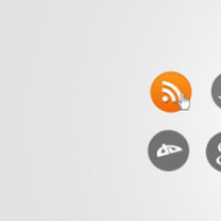 Simply Round Social Media Icons