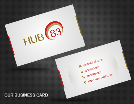 GunaChandra Business Card Template