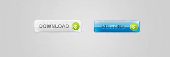 Web 2.0 Glossy Buttons