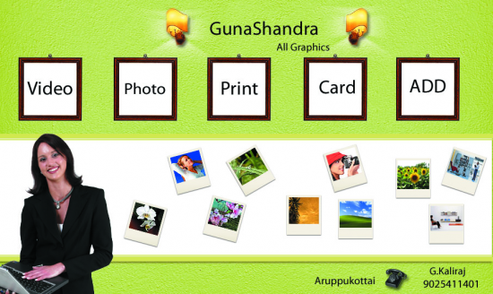 Gunachandra Logo Design Company In Madurai