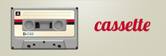 Psd Cassette Icon