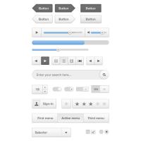 Cloud UI Kit By Sebastien Gabriel