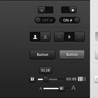 Light And Dark User Interface By Mike Donovan