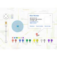 Google Maps UI Kit