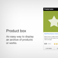 Product Info Web Box PSD
