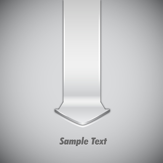 Template With Abstract Design Element