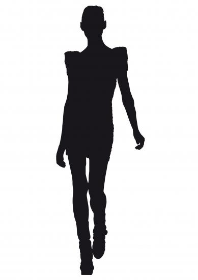 Fashion Model Silhouette