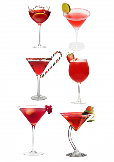 Red Cocktails PSD