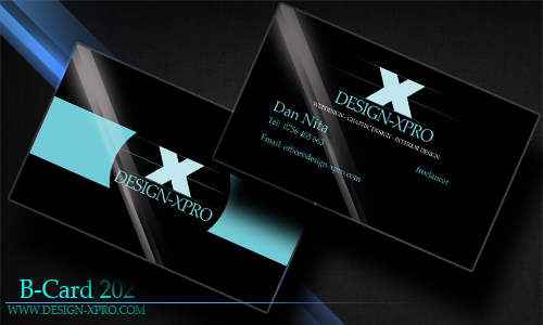 Business Card Blue