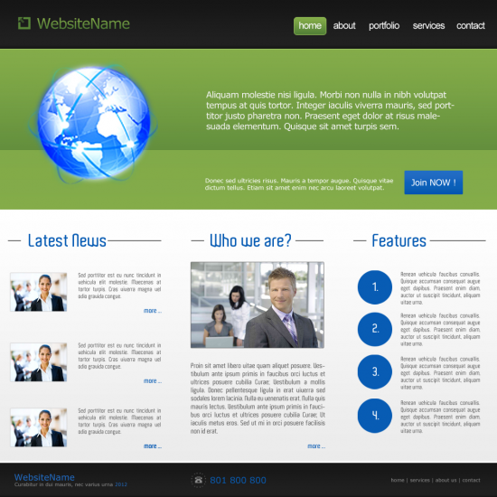 Green Business Template