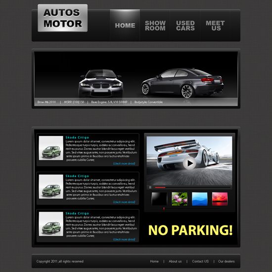 Auto Moto Website Template