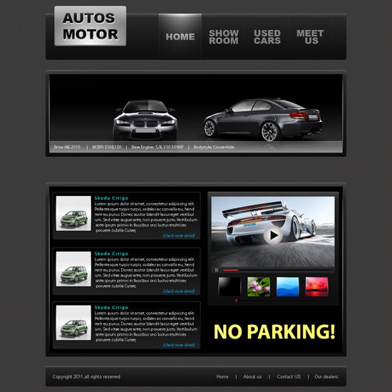 Auto Moto Website Template