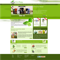 Herbal Medicine Company Site Template