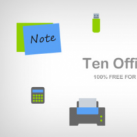 10 Office Icons Part 1