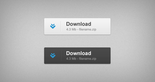Download Buttons Free PSD