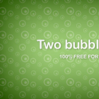 Two Bubbles Patterns Free PNG