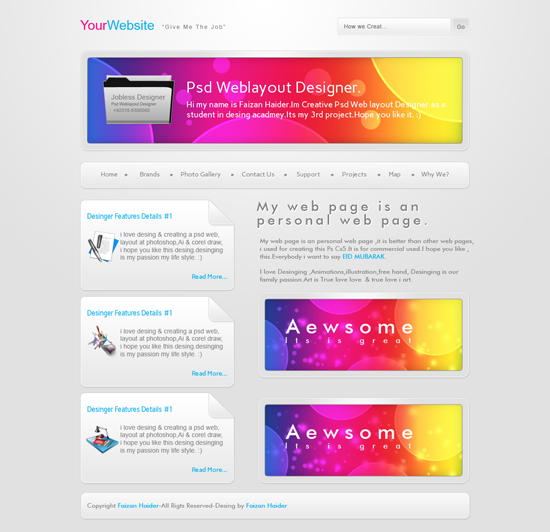 Yourwebsite By Faizan Haider
