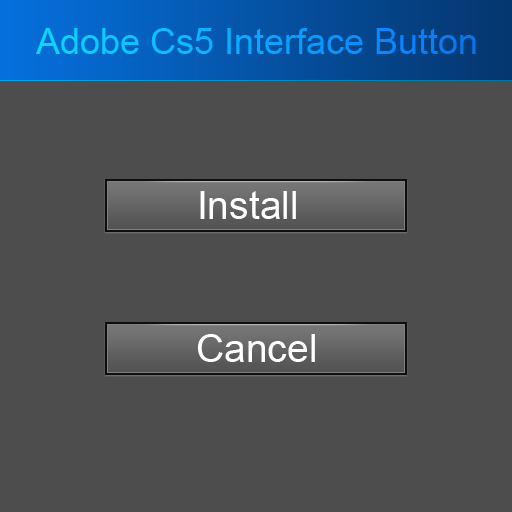 Adobe Ps Cs5 Interface Buttons By Faizan Haider
