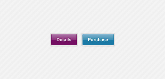 Two Shaped Buttons Free PSD