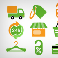 15 Shopping Icons Free PSD And PNG