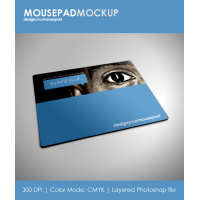 Mousepad Mock-Up Design Your Mouse-Pad Present Your Design In The Best Way
