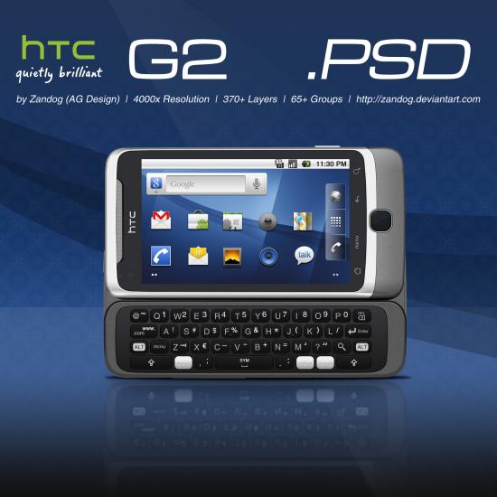 HTC G2 PSD