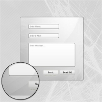 HD Contact Us Interface