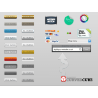 Web User Interface Buttons
